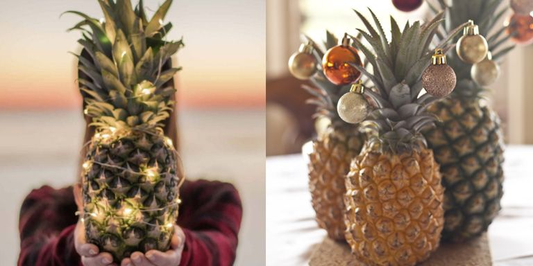 Christmas Pineapple.Pineapples Are The New Christmas Trees
