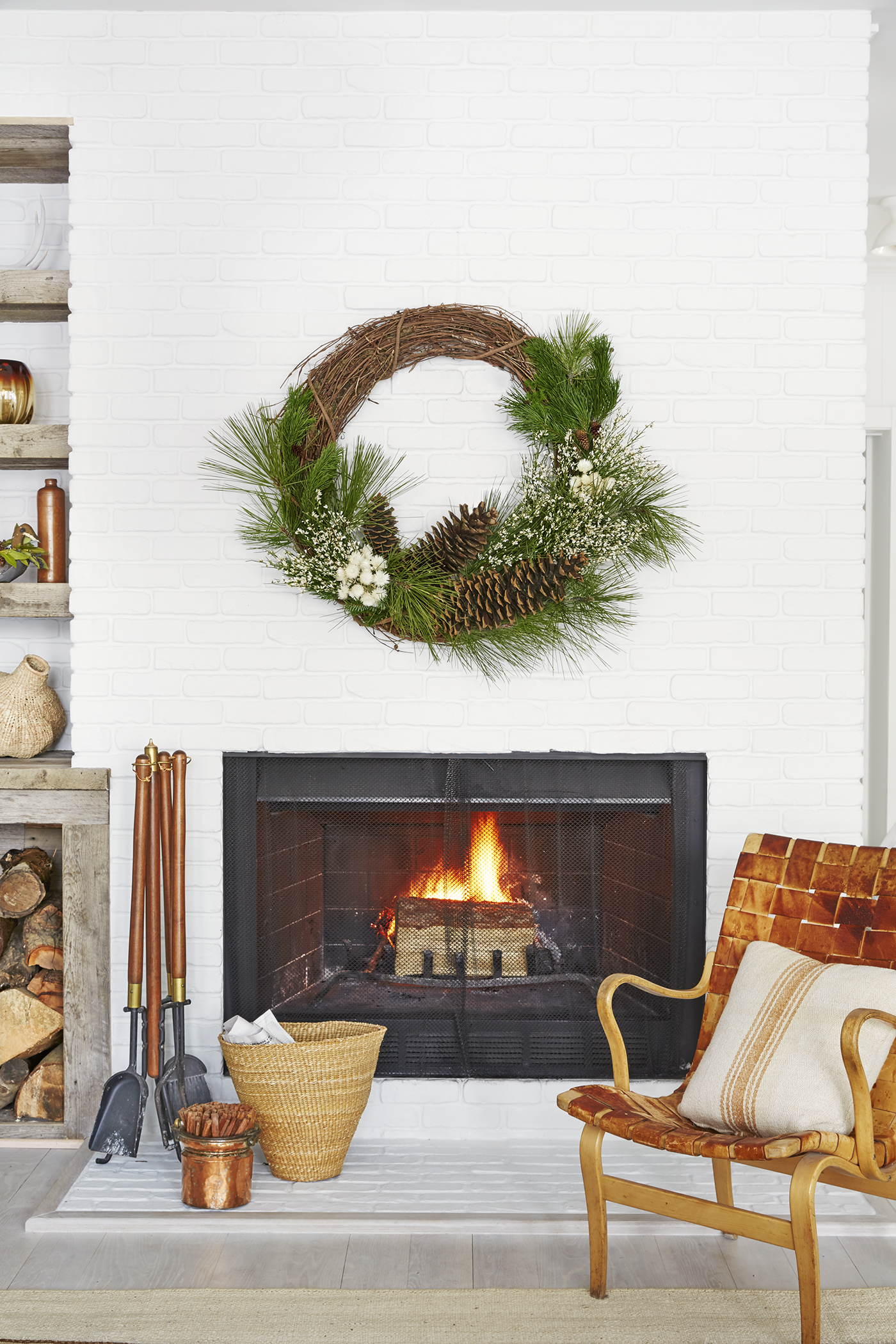 pinecone crafts decorations wreath