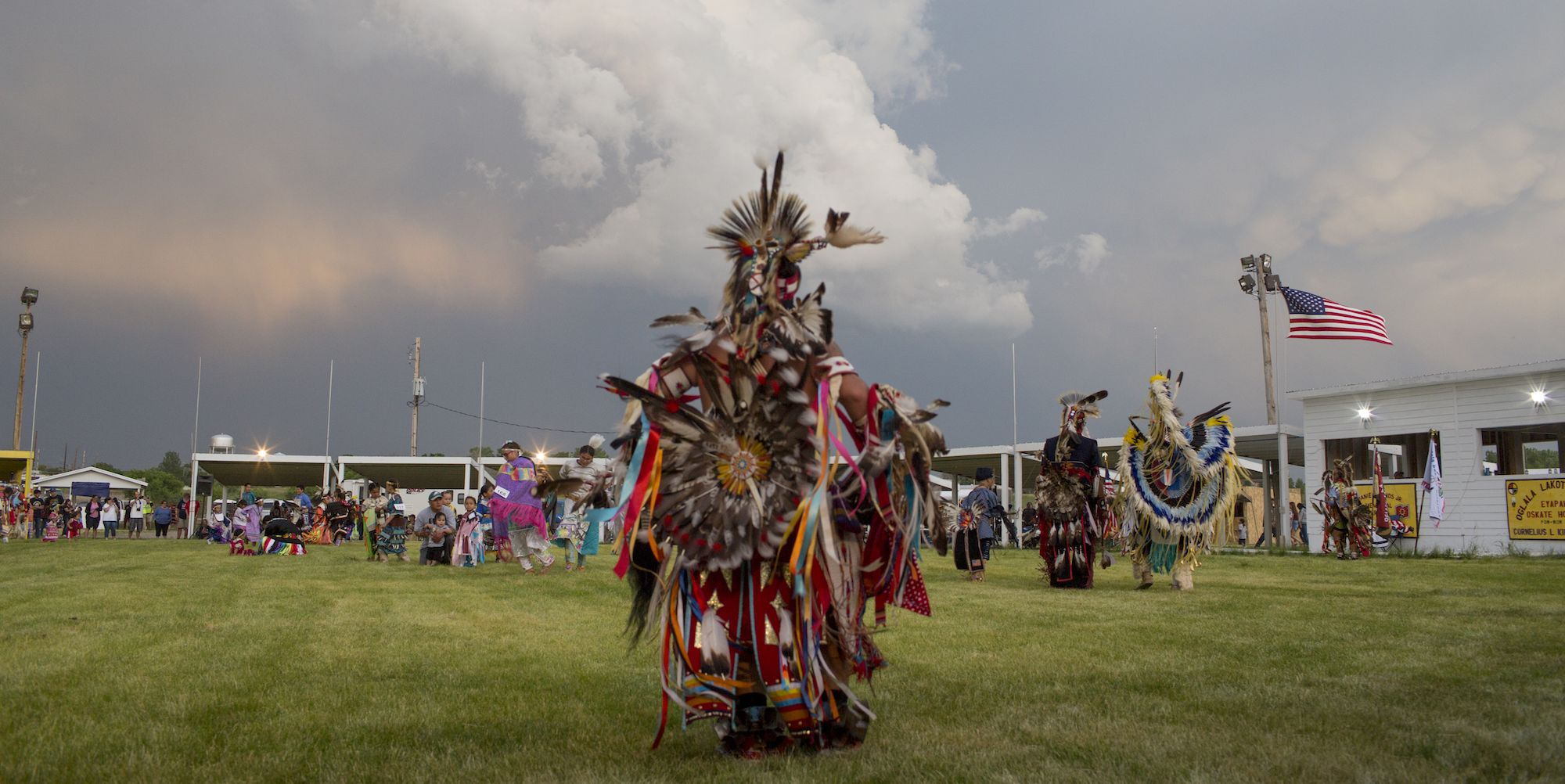 The people of the Pine Ridge reservation have been hit by an ungodly disaster.