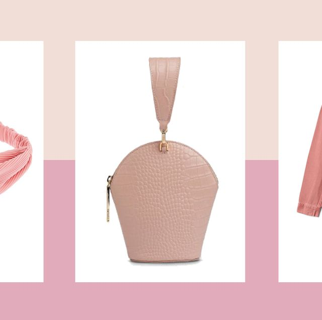 Pink, Clothing, Outerwear, Neck, Fashion, Peach, Collar, Dress, Jacket, Sleeve,