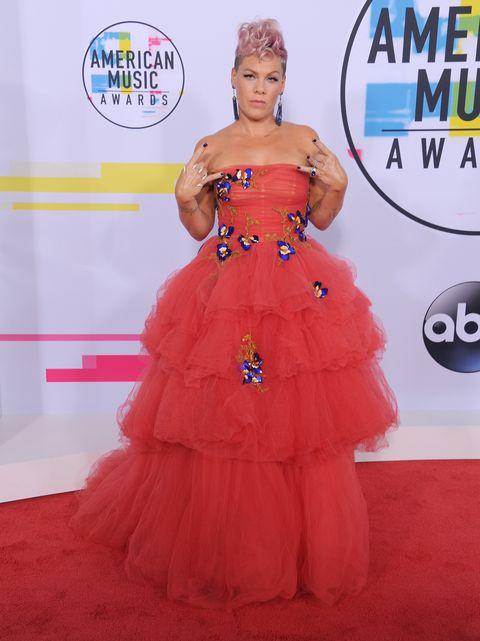 american music awards, alfombra roja, red carpet, ama, naill horan, selena gomez, diana ross, pink, christina aguilera, jared leto
