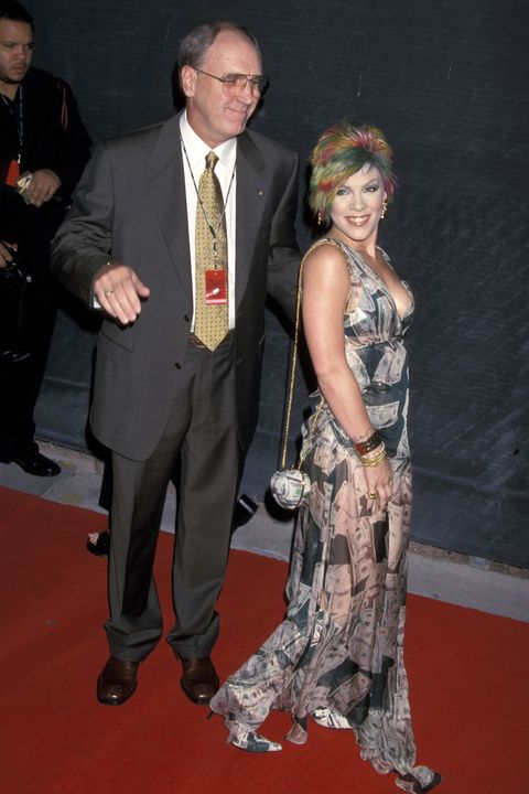pink with her father