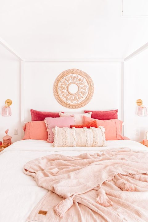 Pink Bed Romantic Bedroom Ideas