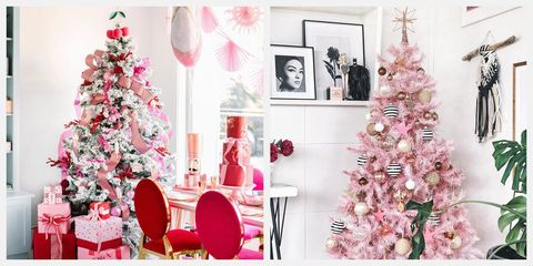 10 Best Pink Christmas Trees Gorgeous