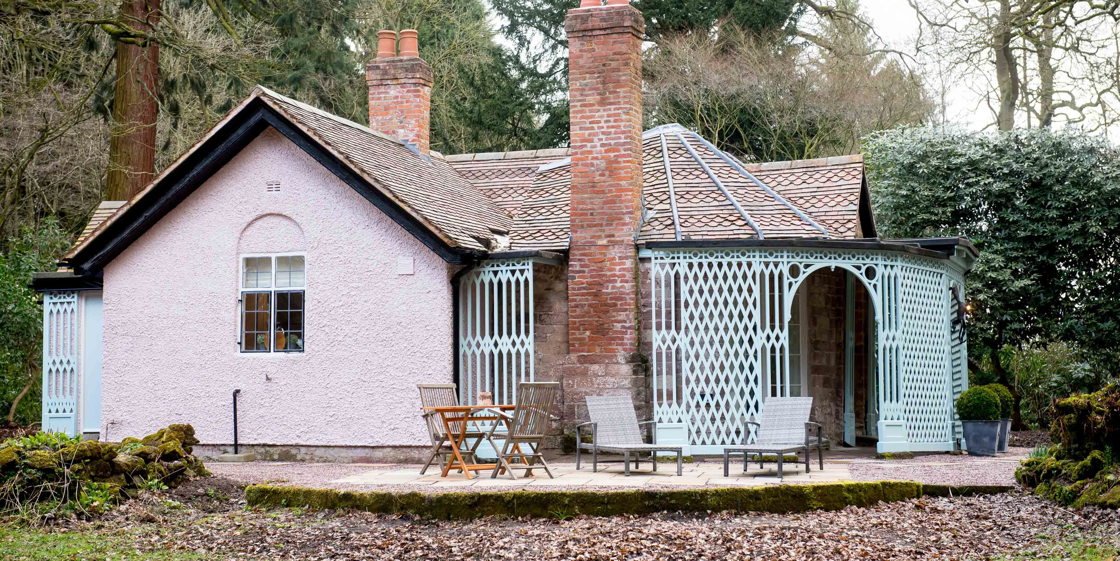 Pink Cottage at Weston Park