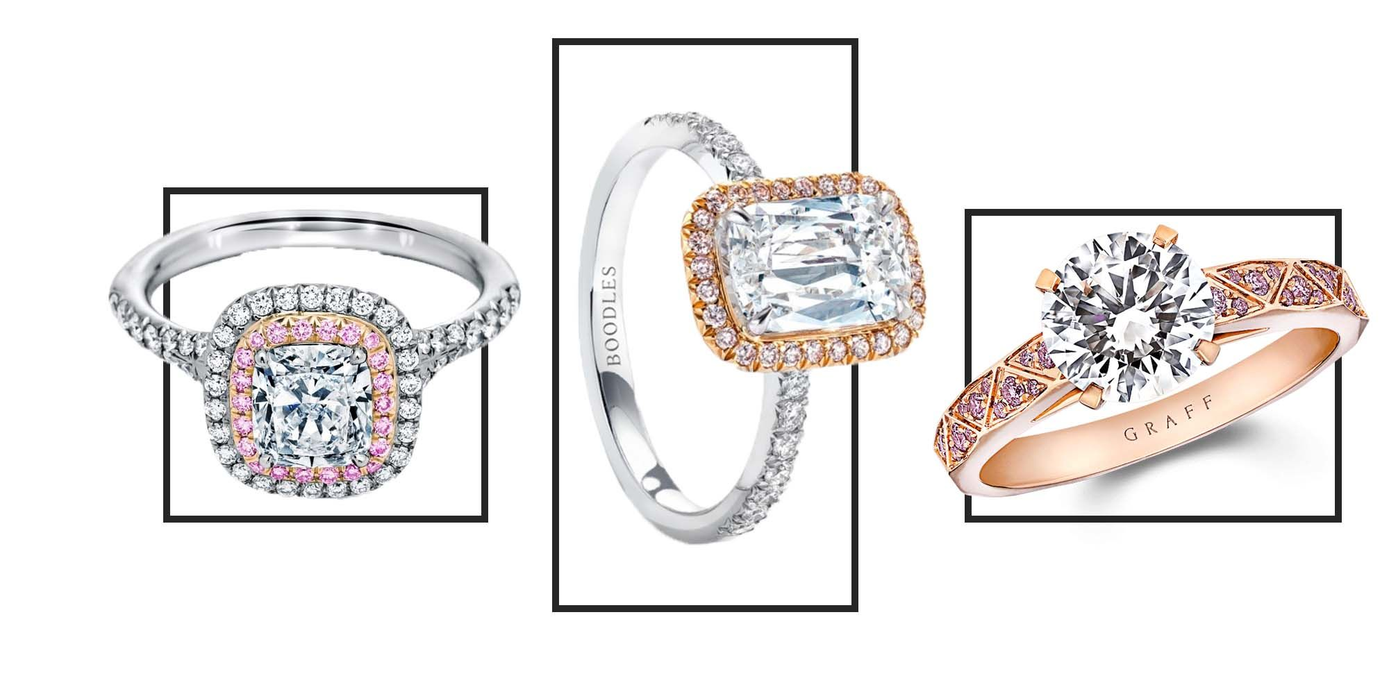 10 of the most beautiful pink engagement rings