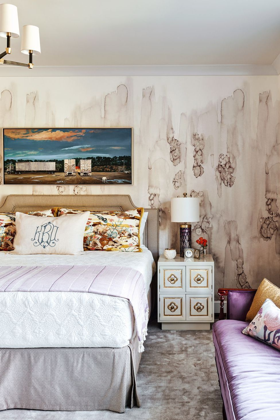 21 Chic Pink And Gray Bedrooms Bedroom Color Combinations