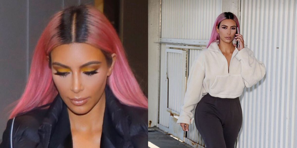 10 Pink Hair Color Ideas For 2018 Kim Kardashian And