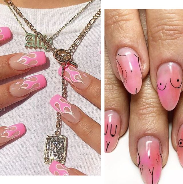 29 Japanese Nail Art Designs Ideas: 27 Of The Best Pink Nail Art Designs On Instagram