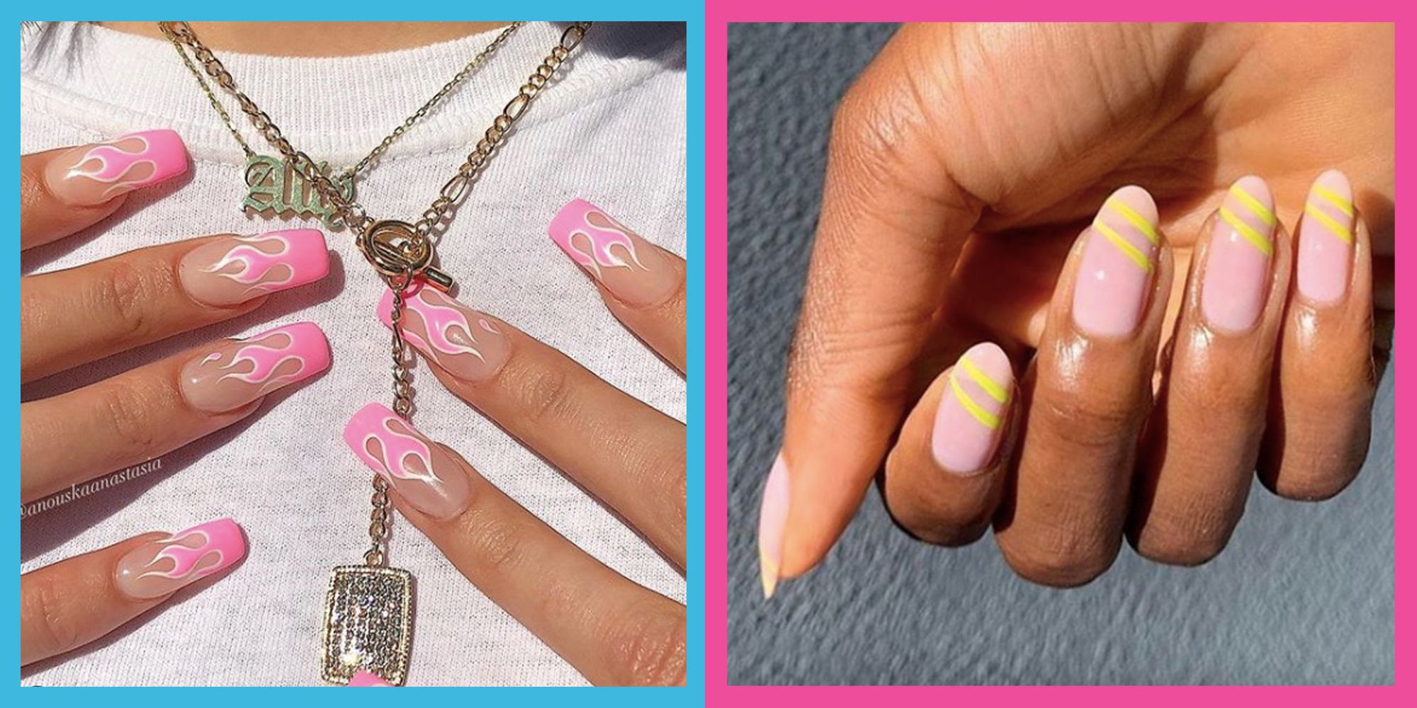 35 Of The Best Pink Nail Art Designs On Instagram 2020