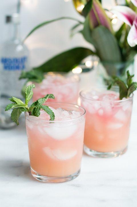 Drink, Non-alcoholic beverage, Paloma, Cocktail, Italian soda, Food, Bay breeze, Alcoholic beverage, Cocktail garnish, Greyhound,
