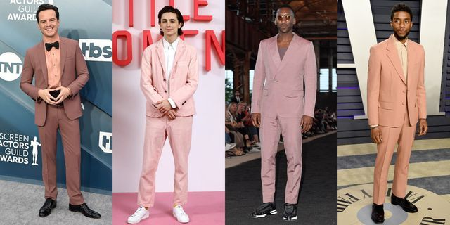 Back To The Fuschia: Why The Pink Power Suit Rules In 2020