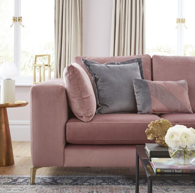 house beautiful darcy sofa at dfs, corner sofa