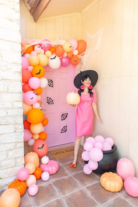pink witch diy witch costumes