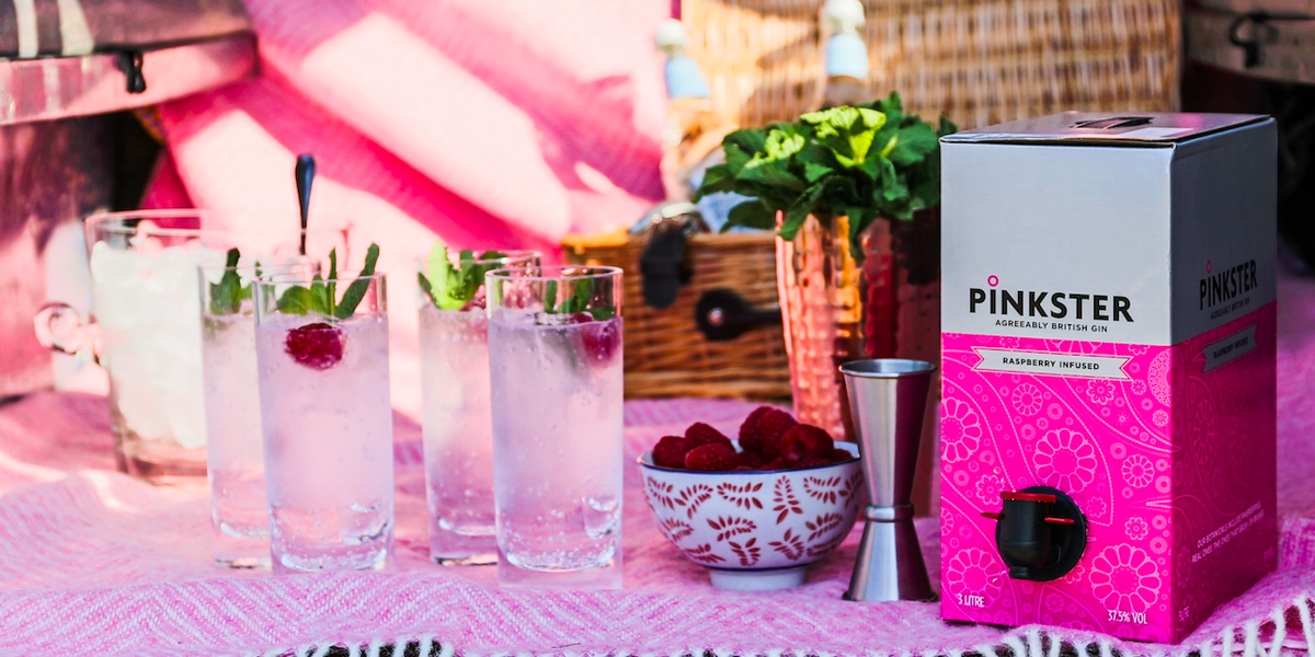 You Can Now Order A 3 Litre Box Of Pink Gin To Be Delivered To Your home