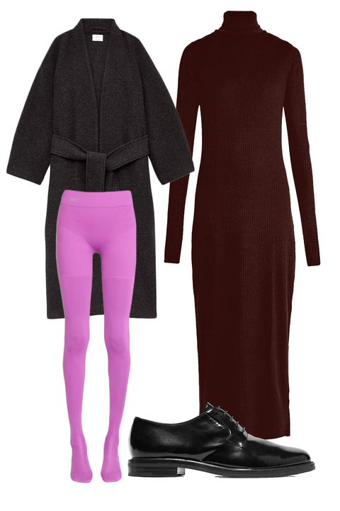 Clothing, Pink, Sleeve, Footwear, Purple, Violet, Tights, Outerwear, Wetsuit, Jersey,