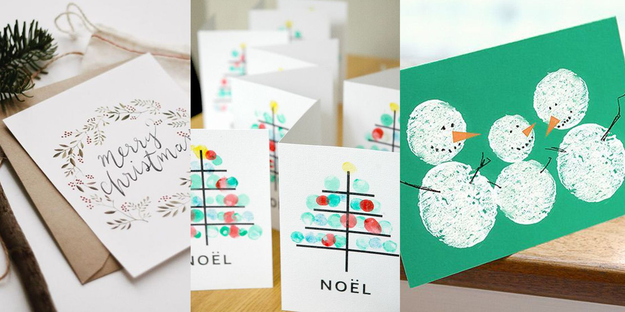 30 Christmas Cards Inspired By Pinterest \u2013 Homemade