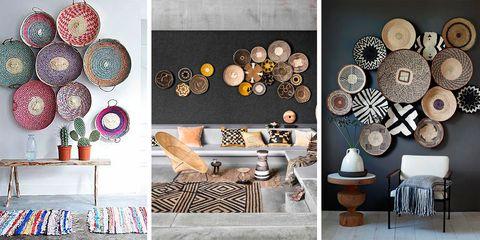 Tendencia en pinterest las bandejas para decorar la pared for Decoracion de paredes con cuadros grandes