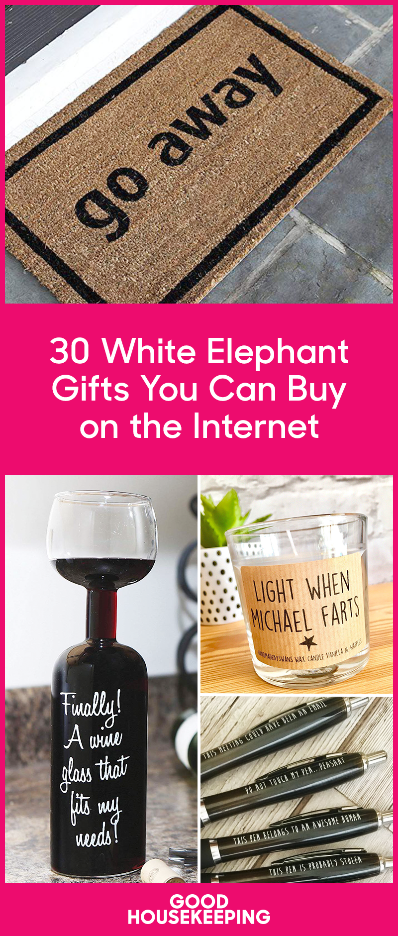 32 Creative White Elephant Gift Exchange Ideas - Funny White ...