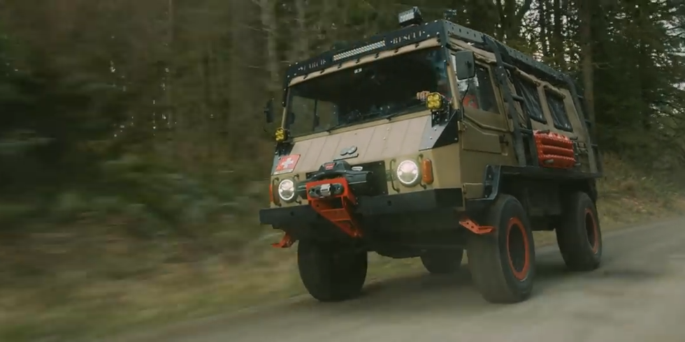 This Strange Austrian Machine Is the Best All-Terrain Truck You've Never Heard Of