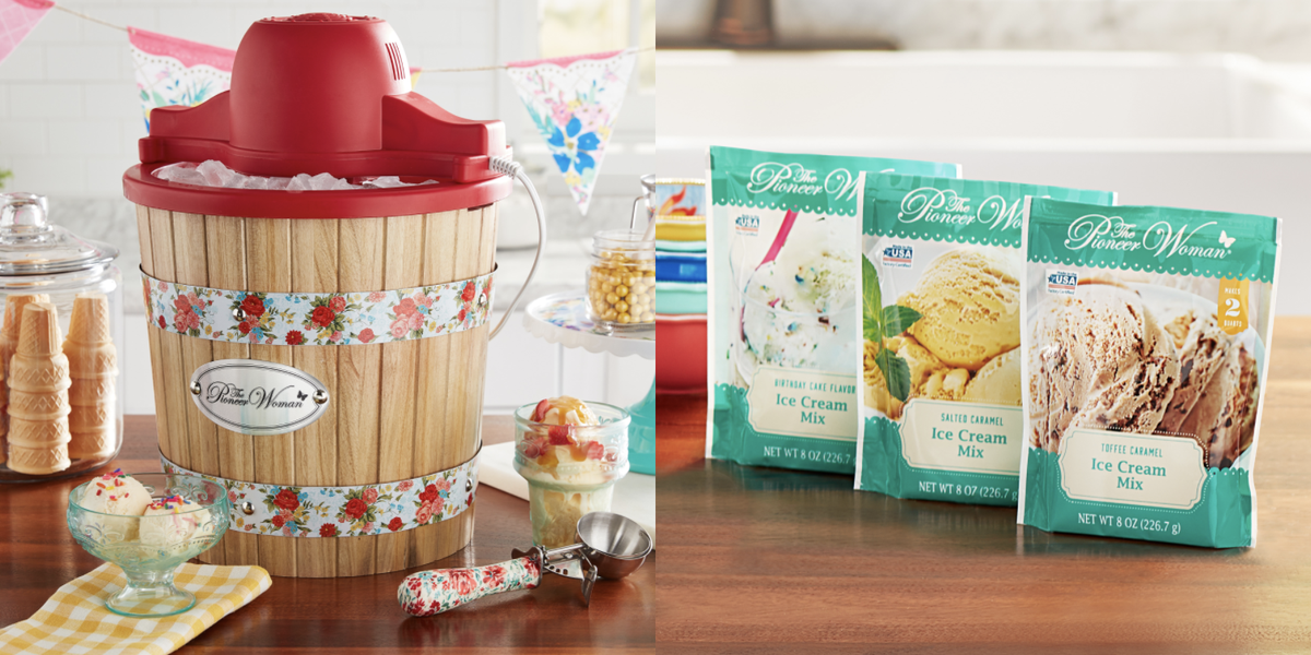 Ree Drummond Has A New Line Of Ice Cream Mixes That Are Shelf-Stable