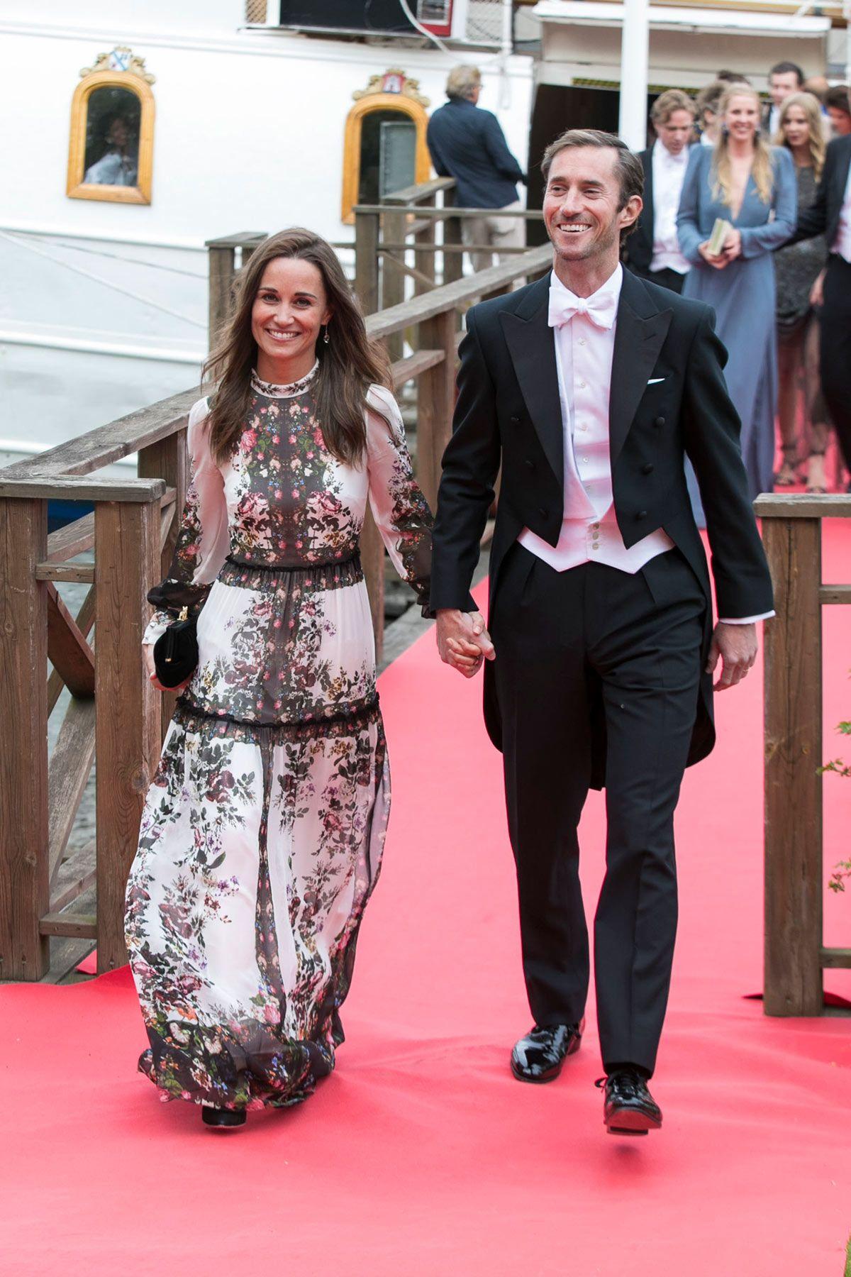 Famoso Vestido De La Dama De Honor Estilo Pippa Middleton Componente ...