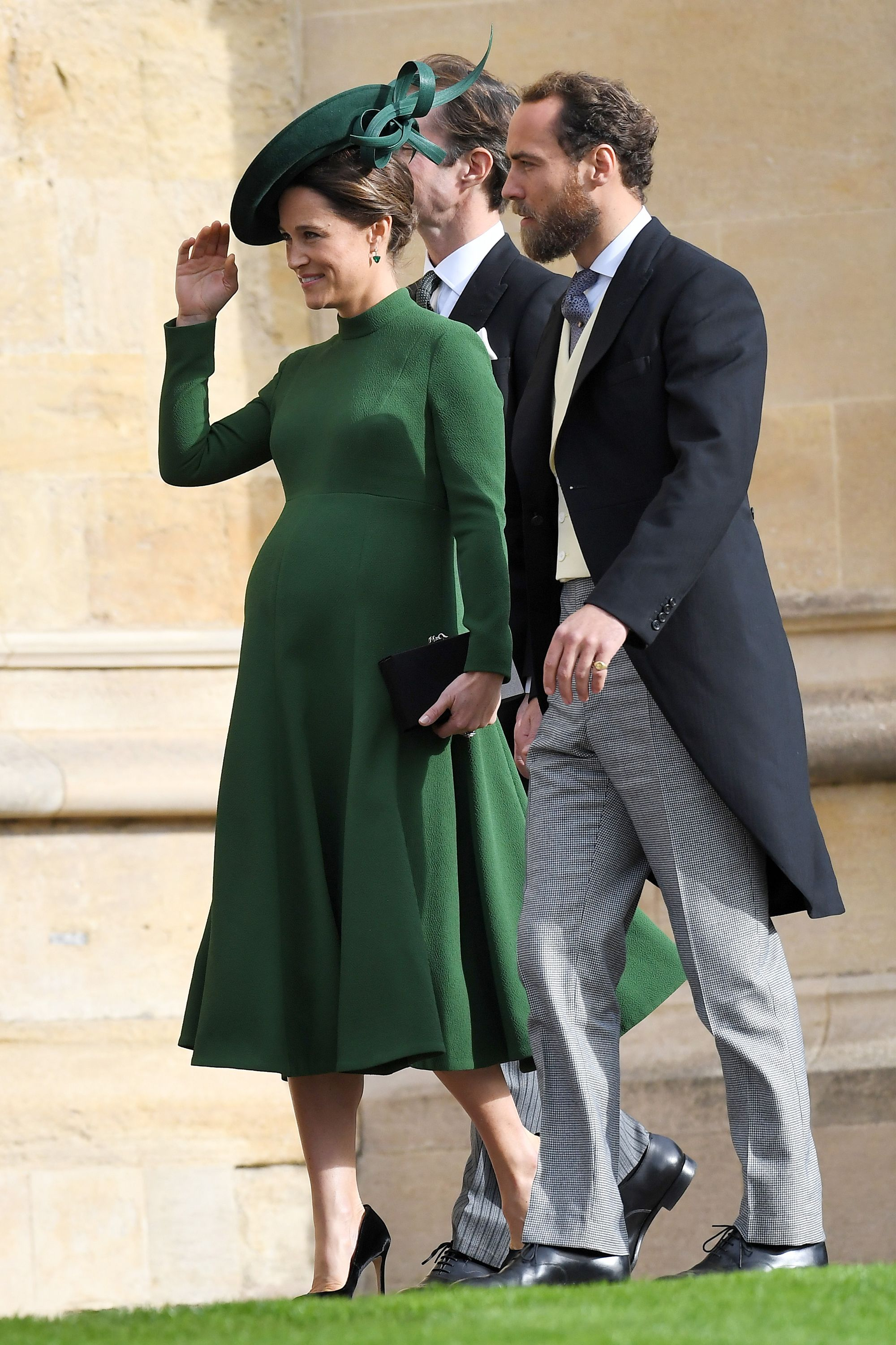The wedding of Princess Eugenie and Jack Brooksbank, Pre-Ceremony, Windsor, Berkshire, UK - 12 Oct 2019