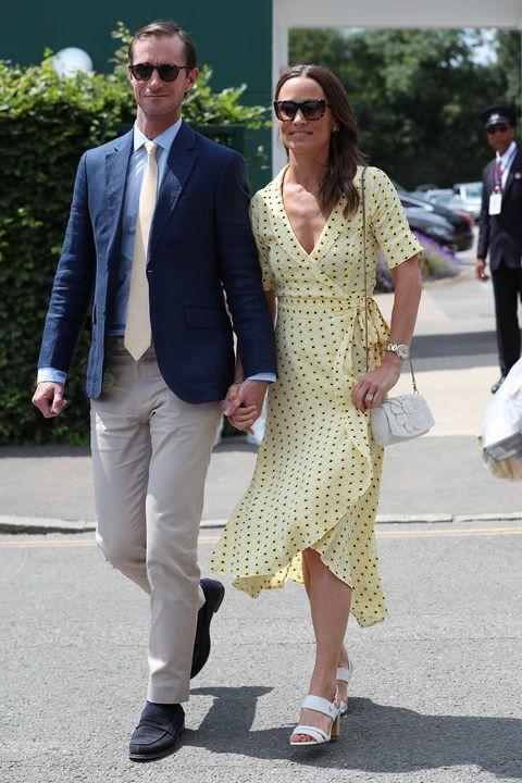 Wimbledon 2019 Celebrity Sightings -  Day 11