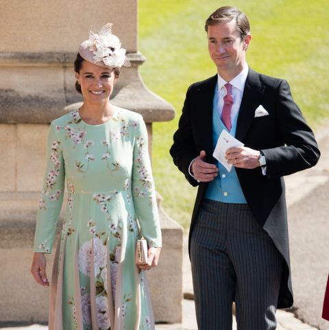 pippa middleton and james matthews reportedly named their son after