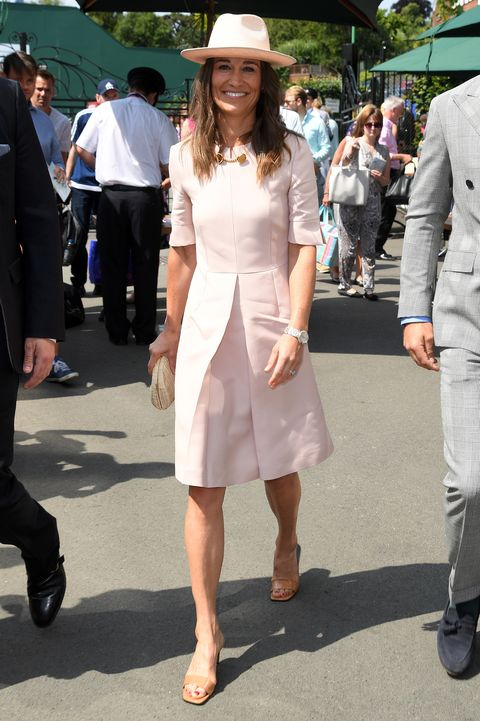 Pippa Middleton Wimbledon Pink Stella McCartney Dress