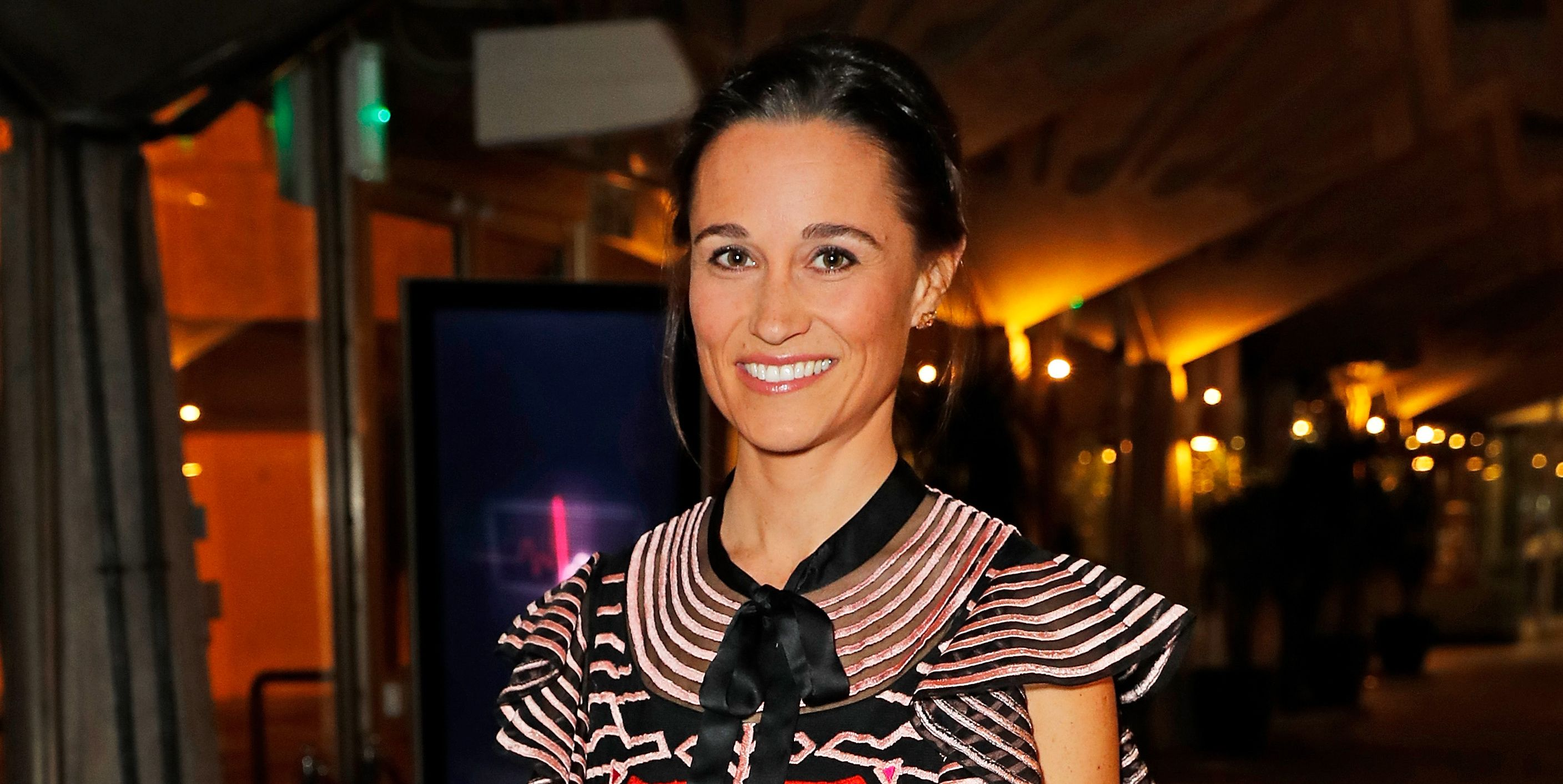 Pippa Middleton wore the prettiest Temperley dress for her first public appearance since giving birth