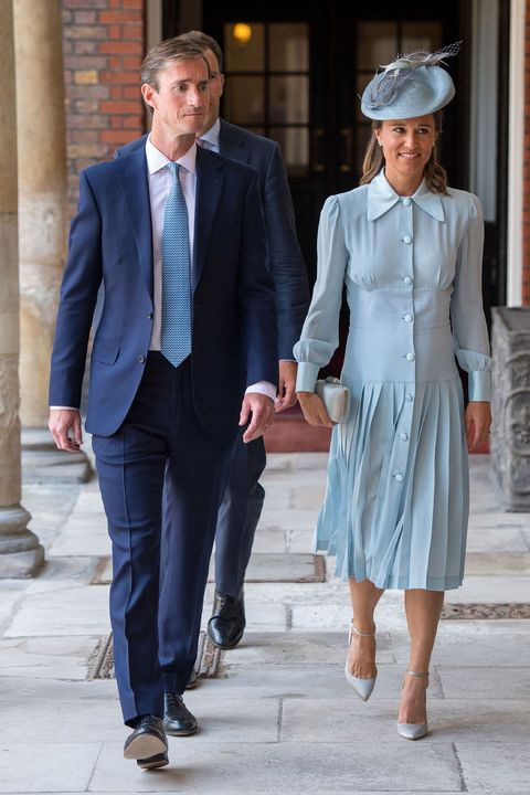7d934d54543 Pippa Middleton wore the same Alessandra Rich dress as Abigail ...