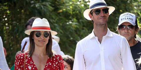 d5c9db9ad3e79 Pippa Middleton Was the Epitome of Cool in Red and White Ralph ...