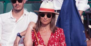 Celebrities At 2018 French Open : Day One