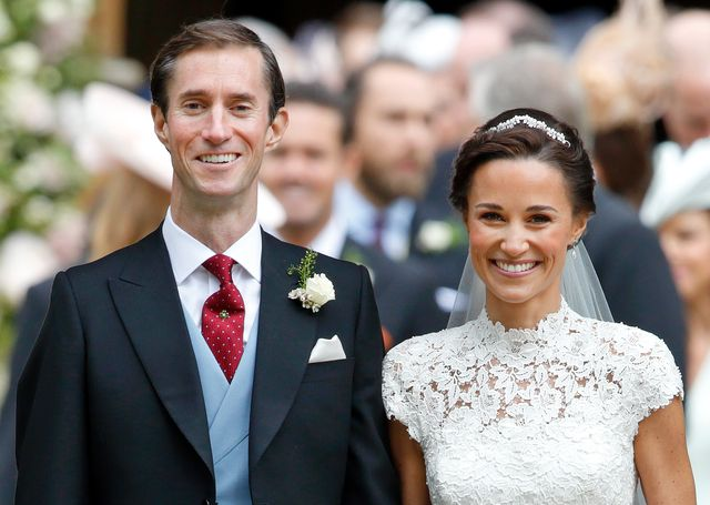 englefield green, united kingdom   may 20 embargoed for publication in uk newspapers until 48 hours after create date and time james matthews and pippa middleton leave st marks church after their wedding on may 20, 2017 in englefield green, england photo by max mumbyindigogetty images