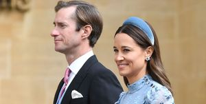 Pippa Middleton and James Matthews at Lady Gabriella Windsor's wedding