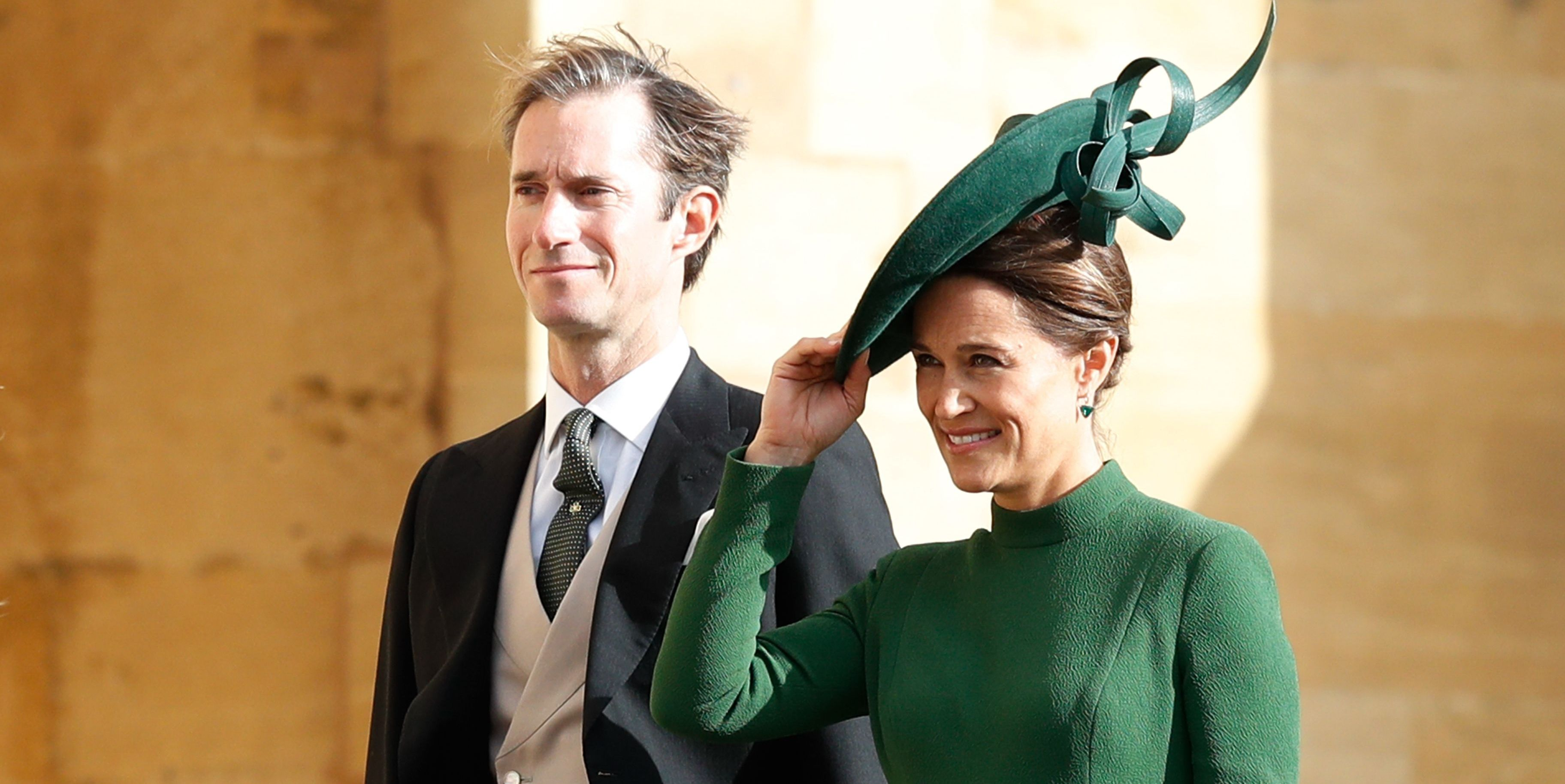 Pippa Middleton Looks Gorgeous In Her Maternity Royal Wedding Guest