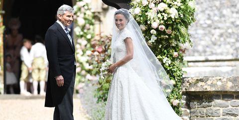Pippa Middleton, Michael Middleton, wedding