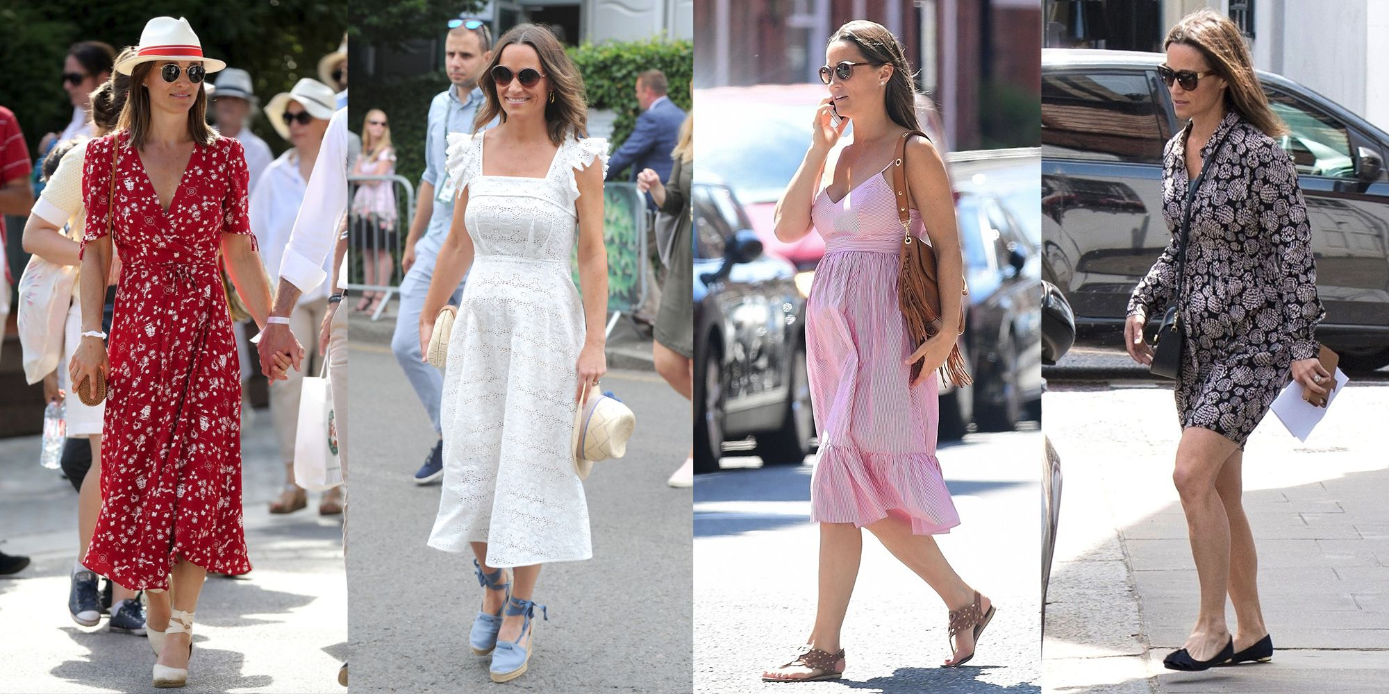 1124981d6d263 Pippa Middleton's Best Pregnancy Outfits - Pippa Middleton Chic ...
