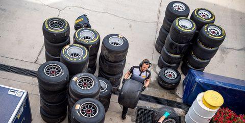auto f1 bahrain test