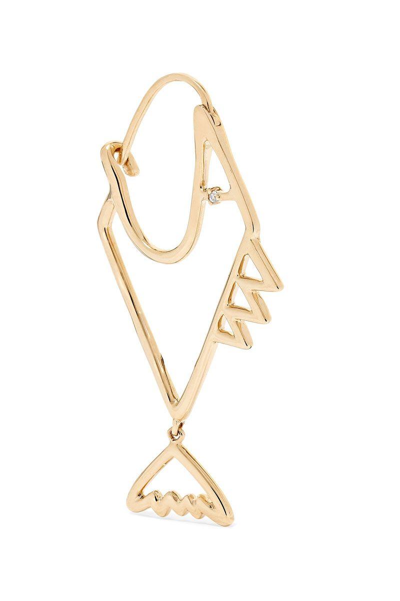 Scorpio Zodiac Sign Gold Necklace