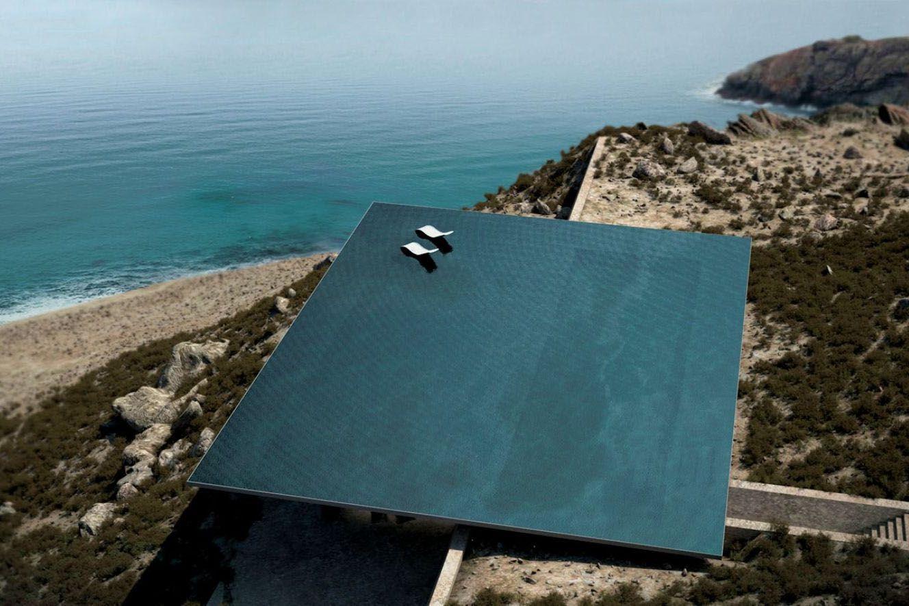Infinity pool de diseño