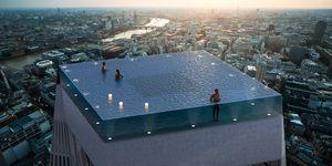 Piscina Infinity 360 grados en Londres