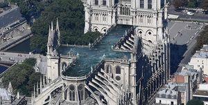 Piscina en la catedral de Notre Dame