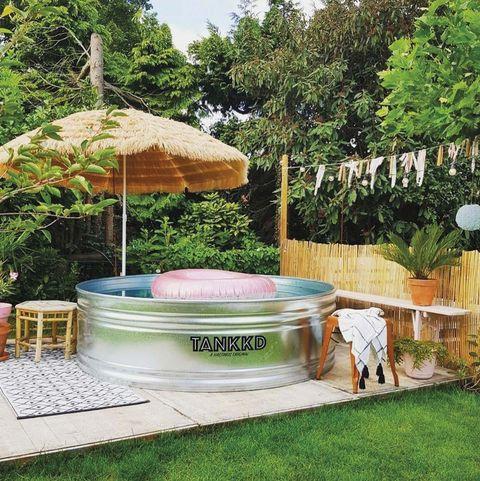 piscina tipo tina