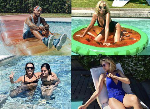 piscinas casas famosos celebrities maluma  paula echevarria  bibiana ferandez  judit masco