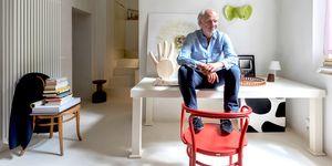 Piso del diseñador Aldo Cibic en Milán