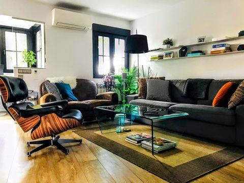 El piso de Álvaro en el centro de Madrid
