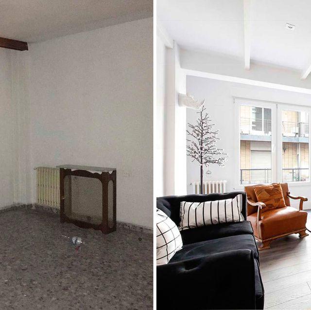 un piso en granada antes y después