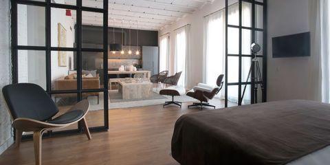 Un piso reformado en Barcelona estilo loft